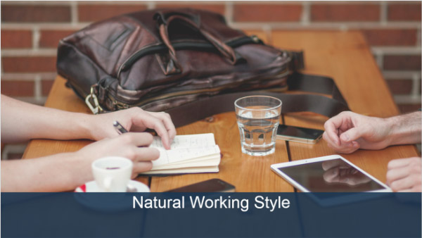 What is your natural working style?